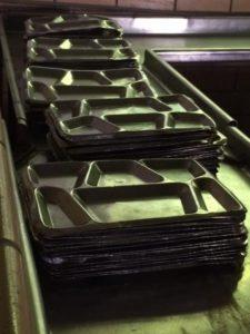 D15 prison trays