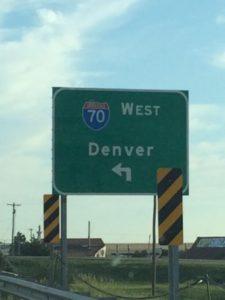 D3 Denver sign