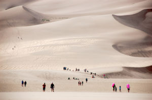 D7 Dunes and People