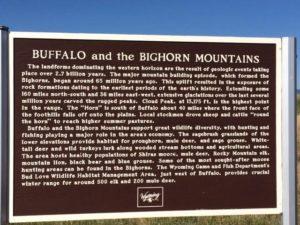 Bighorn Sign